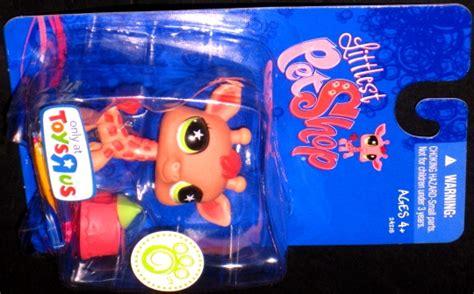 lps from toys r us littlest pet shop toys r us geoffrey giraffe lps hasbro