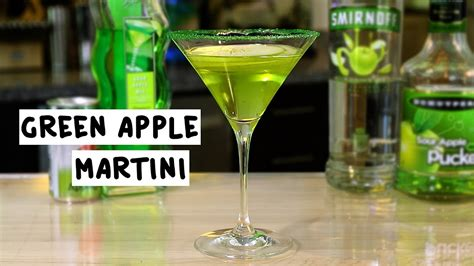 green apple martini green apple martini tipsy bartender
