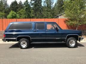 1991 chevy suburban 1500 4x4 89k original factory ac