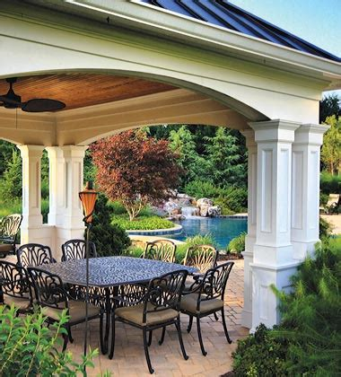 mclean great falls pergola porch pool house design