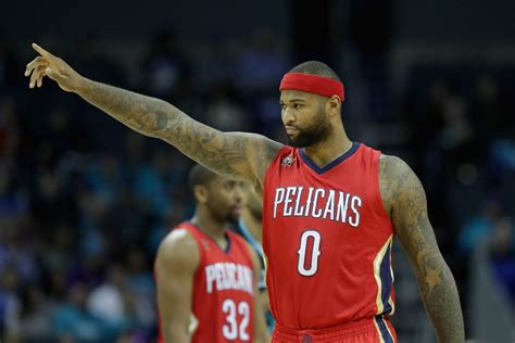 demarcus cousins identifying how the pelicans should best maximize the