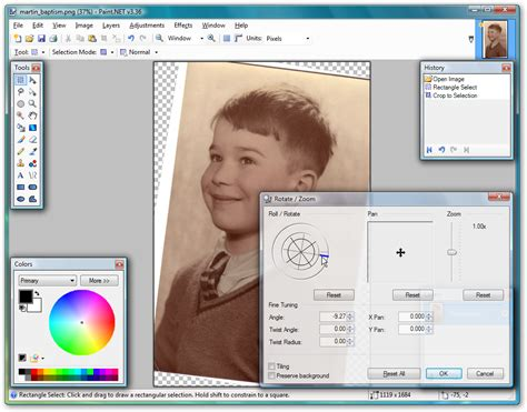 tip straighten photos using paint net from softwarecrew software reviews news
