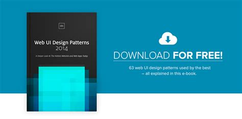 ui layout design patterns 63 web ui patterns from today s hottest companies