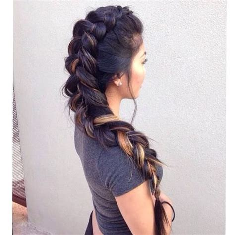 multi colored braids multi colored braid
