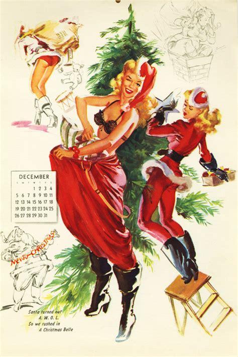 imagenes pin up navidad christmas pin up girls by bill randall pin up and