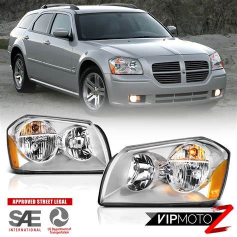 2005 dodge magnum aftermarket parts 2005 2007 dodge magnum quot factory style quot front chrome