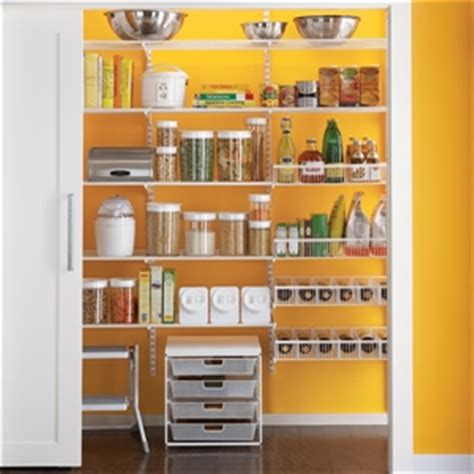 elfa pantry elfa shelving and storage system in the pantry