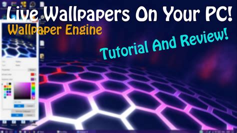 wallpaper engine unity tutorial get a live wallpaper for your pc wallpaper engine
