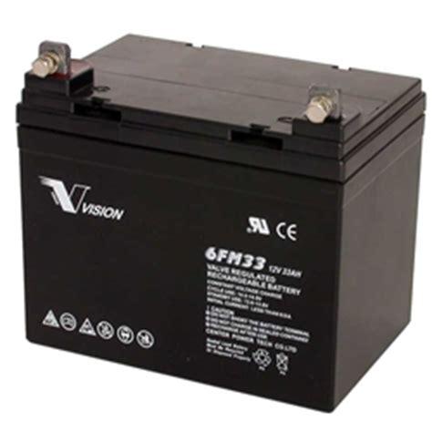 osi batteries generac 0d4575 generator battery 12v 33ah