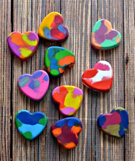 crayon hearts diy crayon hearts for cards this valentines day