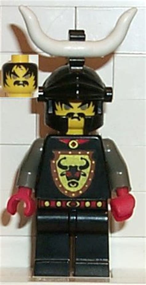 Lego Cedric The Bull Robber Chief bricker lego minifigure cas046 knights kingdom i