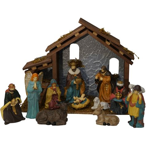 nativity christmas set indoor outdoor decoration village