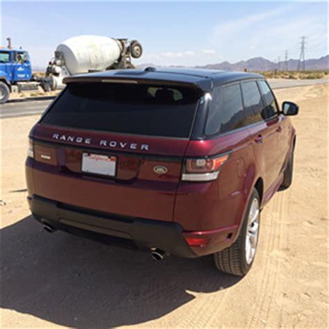 burgundy range rover range rover sport autobiography