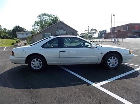 1995 Ford Thunderbird Lx Buy Used 1995 Ford Thunderbird Lx Coupe 2 Door 4 6l In
