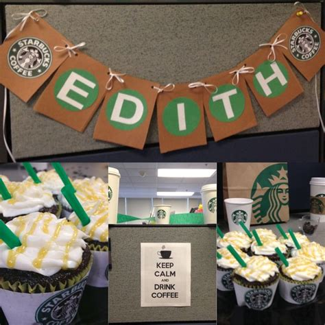 1000  images about Starbucks Party Theme on Pinterest   Starbucks, Themed parties and Office parties