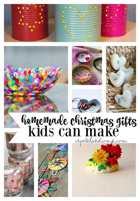 efind christmas gifts kids can make
