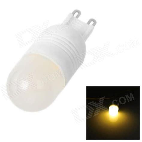 Krisbow Bohlam Led Warm White 3w sencart g9 3w 270lm warm white light 6 smd 5060 led bulb ac 220 240v worldwide free shipping