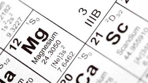 what is magnesium on the periodic table mighty magnesium ten lesser known facts doug cook rd