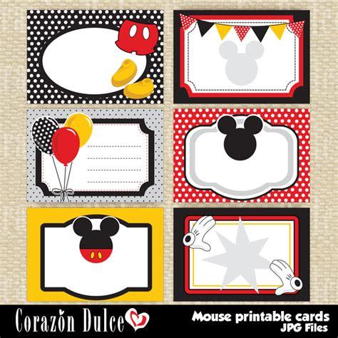 printable christmas tags mickey mouse mouse printable cards fun printable cards perfect for