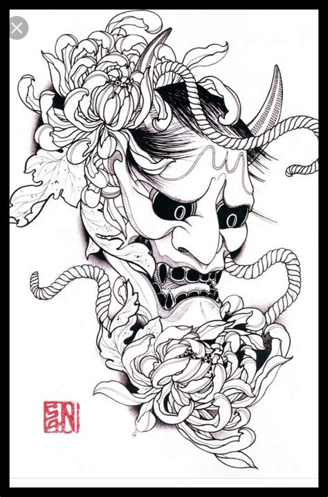 yokai tattoo flash 293 best images about hannya mask on pinterest create my