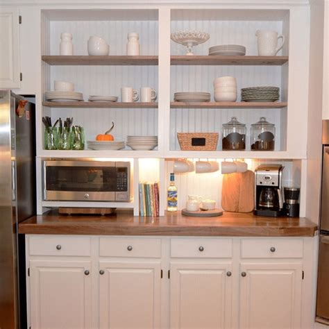no door kitchen cabinets interior wall alternatives