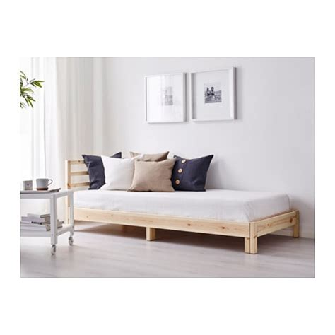 ikea day bed tarva day bed with 2 mattresses pine malfors firm 80x200