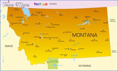 montana cities map map of montana with cities toursmaps