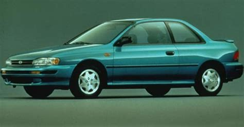 It would appear that a 95 Impreza L Coupe with a 5 speed
