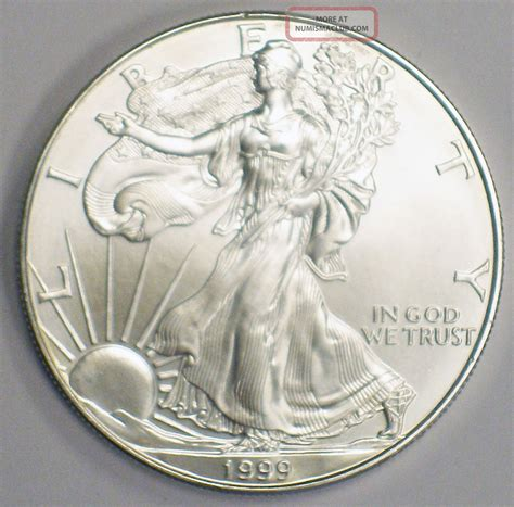 1 oz silver eagle weight 1999 american silver eagle dollar coin 999 1 ounce name