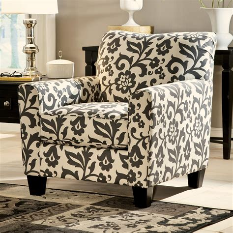 floral print accent chairs accent chair in floral print by signature design by