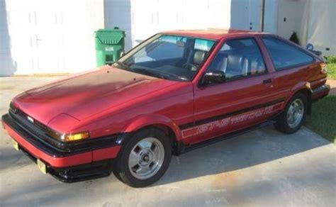 1985 Toyota Corolla For Sale 1985 Toyota Corolla Gts Bring A Trailer