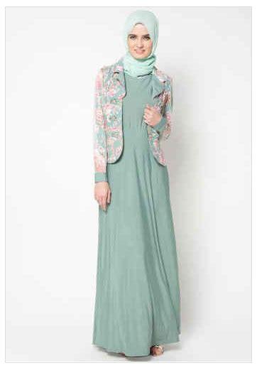 Busana Muslim 2016 Koleksi Busana Muslim Gamis Batik Terbaru Fashion Style