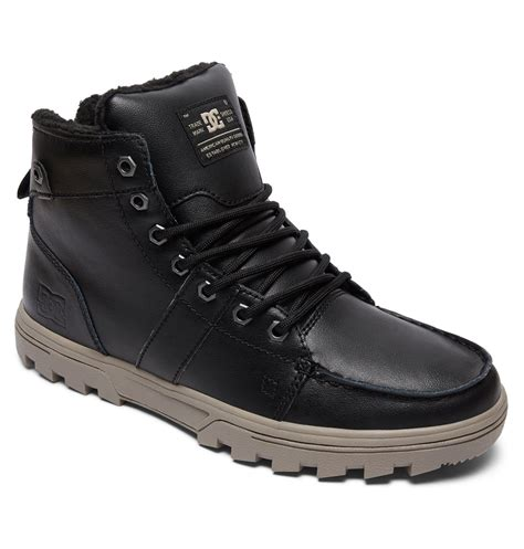 mens dc boots dc shoes s woodland winter boots 303241 ebay