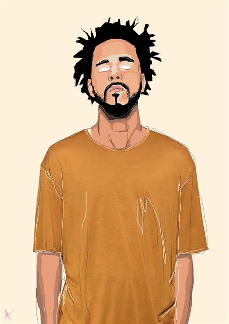 J Cole Sketches by J Cole Jcole Pinte