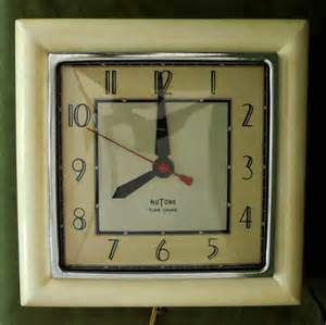 mid century nutone door chime clock