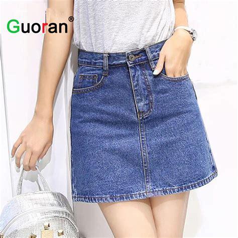 faldas de cortas faldas cortas en jean