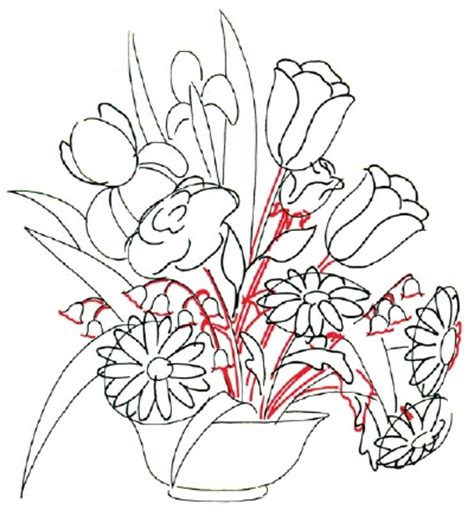 how to do a flowers doodle 3 stems how to draw a flower arrangement howstuffworks
