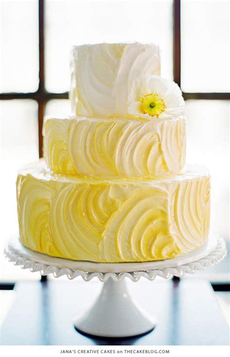 Wedding Cake Yellow by 10 Brilliant Yellow Cakes