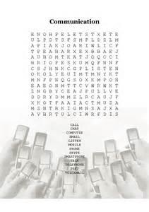 wordsearch communication vocabulary