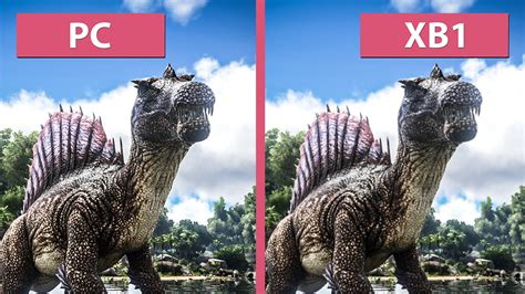 ark survival spray painted xbox one ark survival evolved pc vs xbox one graphics