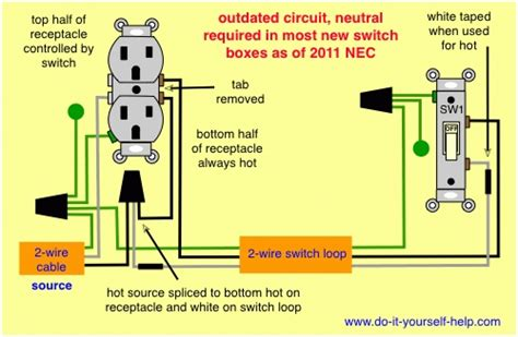 switched outlet wiring diagram wiring diagram and