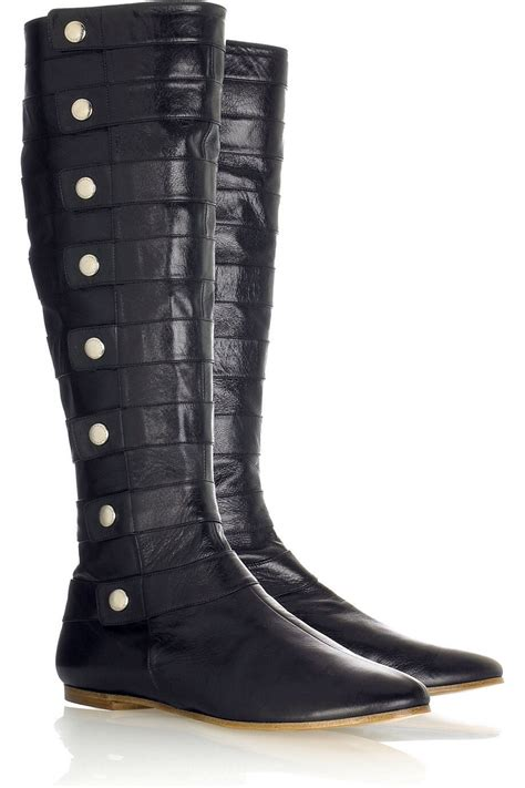 got salt stains on leather boots from snow mix 1tbs