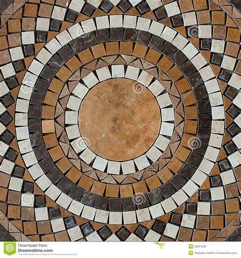 mosaic pattern circles mosaic circle floor stock photo image of artistic