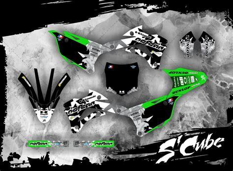 kawasaki kx 85 dekor kawasaki dekor kx 85 2014 2016 scube mx kingz motocross shop