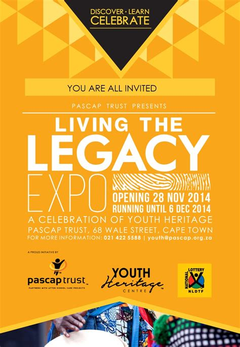 invitation card design for exhibition invitation youth heritage exhibition pascap trust