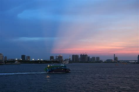wallpaper japan landscape ship boat sunset sea