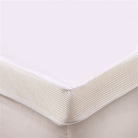 bed bath beyond mattress topper therapedic 174 3 inch memory foam mattress topper bed bath