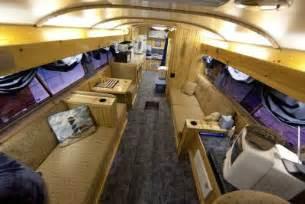 Alfa img showing gt school bus rv conversion interior