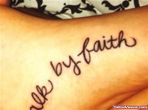 tattoo font viewer he walks with me foot tattoo tattoo viewer com