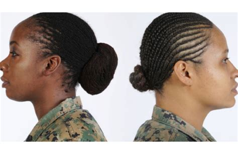 military haircuts chicago the marine corps relaxes hairstyle standards for black